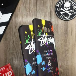 stussyロゴiphone7 plusカバー