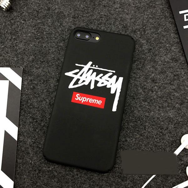 stussy&supreme iphone xケース