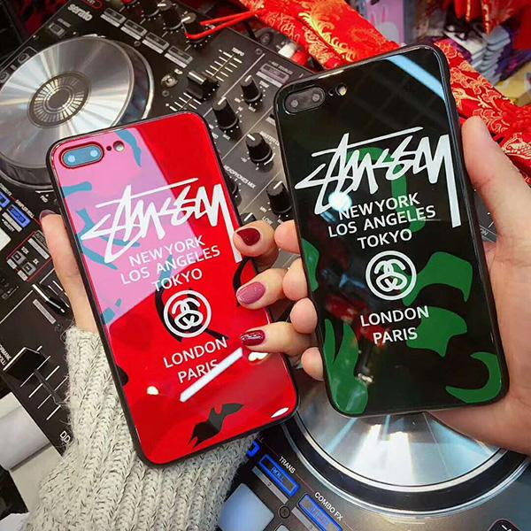 stussy iPhone xケース おしゃれ