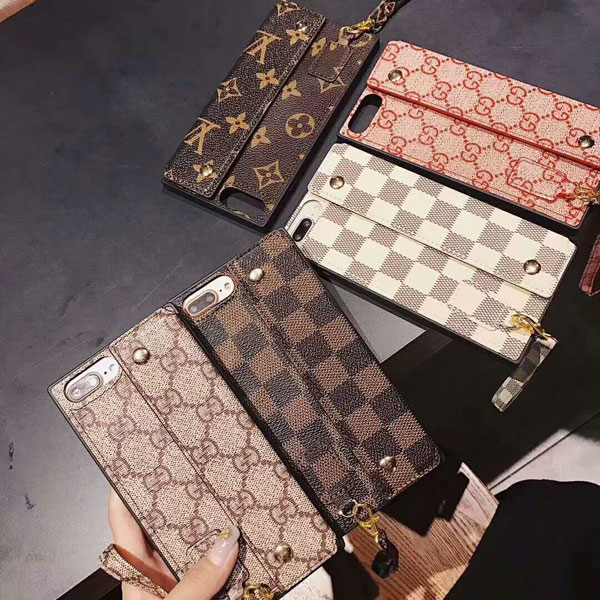 lv iphone x/8/8plus 手帳型ケース
