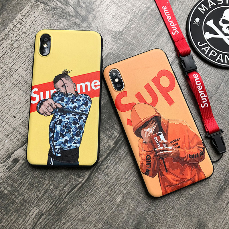 supreme iphone xplusケース お洒落
