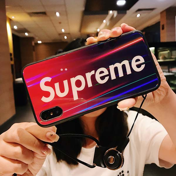 ブランド SUPREME iphone xs/xs max/xrカバー