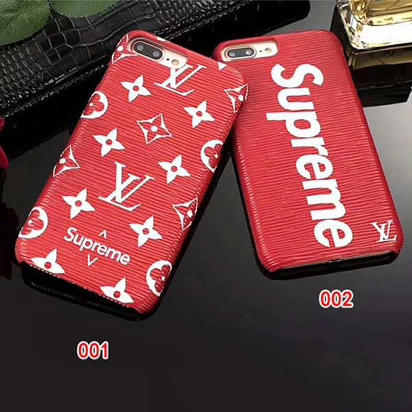 supreme iphone xs/xs maxカバー オシャレ